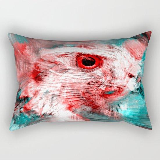 Wild Eagle  Rectangular Pillow