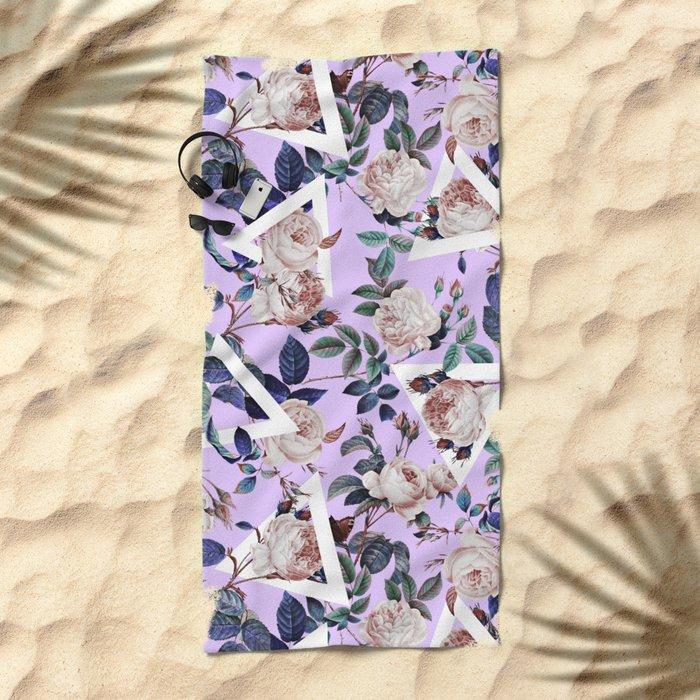 FUTURE NATURE XI Beach Towel