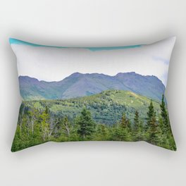 The Mountains Are Calling . . . Rectangular Pillow