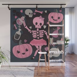 Love Potion Skeleton Dance Wall Mural