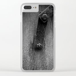 Strang machine Clear iPhone Case