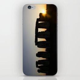 Stonehenge at Sunset iPhone Skin