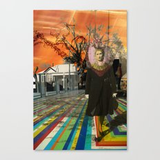 Floored Up Canvas Print