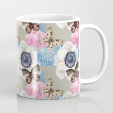 Vintage Flowers & Moths Mug