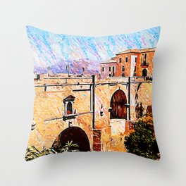 Ronda, Spain Throw Pillow