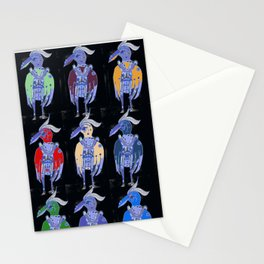 The Blue Bird Likes Apples Stationery Cards