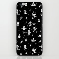 Skeletoile iPhone & iPod Skin