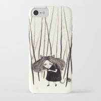 into the wild iPhone & iPod Cases featuring wild by Soju Shots
