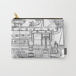 Engineered Sketch Carry-All Pouch