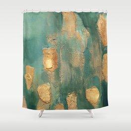 Acrylic Abstract 01 Shower Curtain
