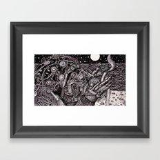 The Deep End (Still Frame 1) Framed Art Print