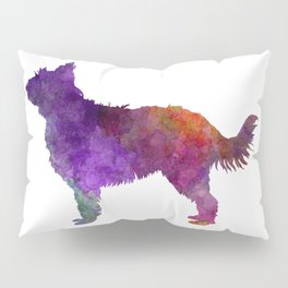Picardy Sheepdog in watercolor Pillow Sham