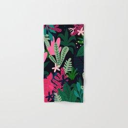 Into the jungle - deep night Hand & Bath Towel