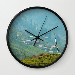 Darjeeling Hill Wall Clock