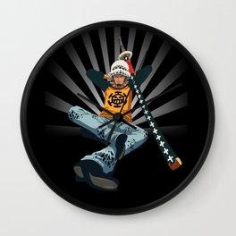 Samurai Man Wall Clock