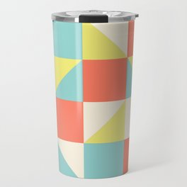 Abstract Aztec Pattern Travel Mug