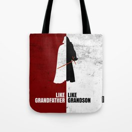 Like Grandfather, like Grandson Tote Bag