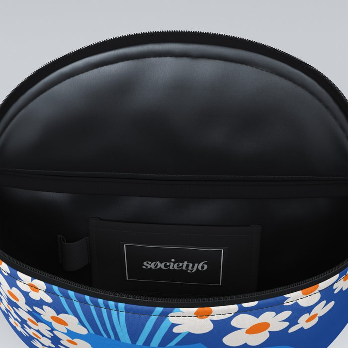 Abstraction_FLORAL_Blossom_001 Fanny Pack