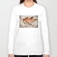 leaf Long Sleeve T-shirts featuring leaf by Bonnie Jakobsen-Martin