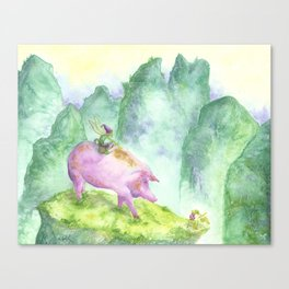 Year of the Pig Canvas Print