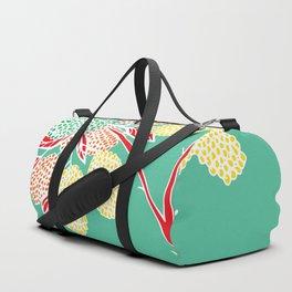 Wild Hydrangea Flower Duffle Bag