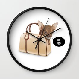 BagDog Wall Clock