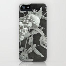 Skullflower Two iPhone Case