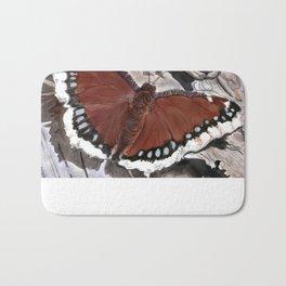 Cloak of Mourning Butterfly Bath Mat