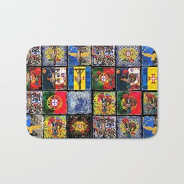 Portuguese art collection Bath Mat