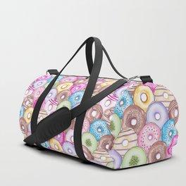 Donut Invasion Duffle Bag