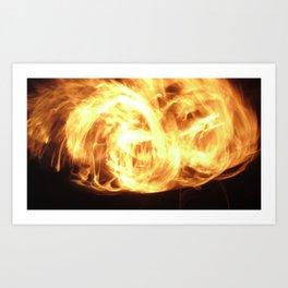 Fire Manipulation #1 Art Print