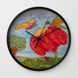 Saving a Seat In Heaven For You Wall Clock