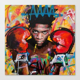 Jean-Michel Basquiat ART Canvas Print
