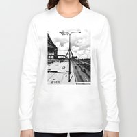 boston Long Sleeve T-shirts featuring Boston by DYCO