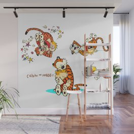 Calvin and Hobbes all Wall Mural