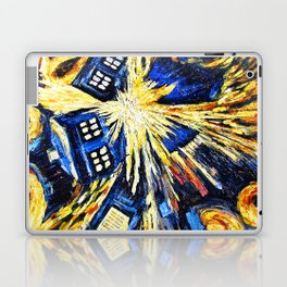Tardis By Van Gogh - Doctor Who Laptop & iPad Skin