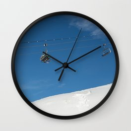 Chairlift Exchange Wall Clock