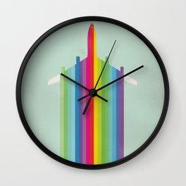 RNBW PLN Wall Clock
