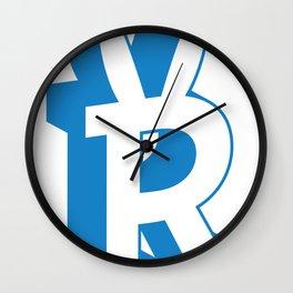 Rabbitguts Logo Wall Clock
