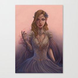 High Lady Feyre Canvas Print