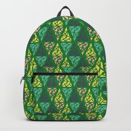 Low Green Backpack