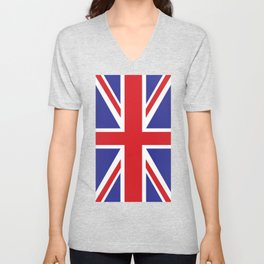 British Flag Unisex V-Neck