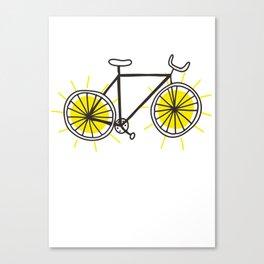 Ride On Sunshine Canvas Print