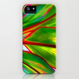 Ti Leaf Special Order iPhone Case