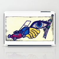 motorcycle iPad Cases featuring Motorcycle by Funniestplace