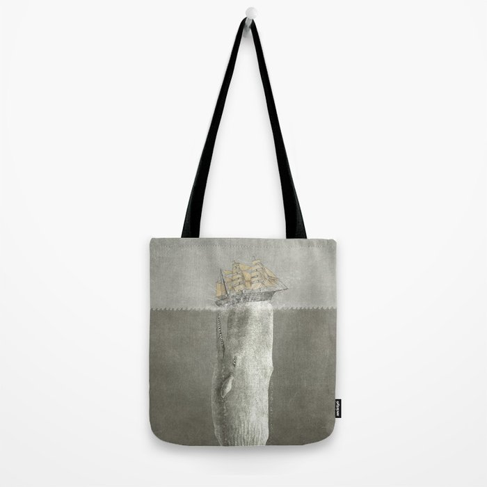 Revenge of The Whale Tote Bag
