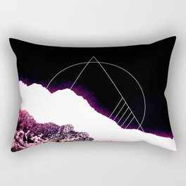 Mountain Ride Rectangular Pillow