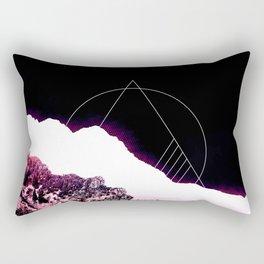 Mountain Ride Rectangular Pillow