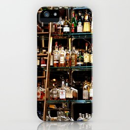 BOTTLES ALL IN A ROW iPhone Case