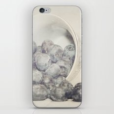 Spilled Blueberries iPhone & iPod Skin